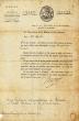 Lettre signée,. Truguet (Laurent, Jean-François, comte) :