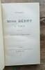 Voyages de Miss Berry à Paris 1782-1936. BERRY (Miss) [Mary]