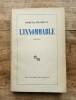 L'Innommable, roman. BECKETT Samuel