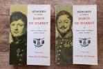 Mémoires du Général Baron de Marbot Tome 1 et 2. MARBOT Baron de