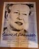 Simone de Beauvoir. AFFICHE