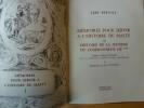 Mémoire pour servir à l'Histoire de Malte ou Histoire de la Jeunessedu Commandeur de ***, Préface d'Henri Coulet.. PREVOST D'EXILES, Antoine-François, ...