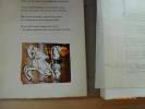 Sagesse.  Exemplaire numéro 2 contenant les études et variantes de deux planches (soit 4 gouaches) ainsi qu'une gouache non retenue sur parchemin. ...