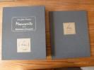 Les Plus Beaux Manuscrits de la Littérature Française et Les Plus Belles Lettres Illustrées. En 2 Volumes et 1 coffret de Facs-Similés.. DE AYALA, ...