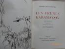 Les frères Karamazov. Préface de Julien Cain.. DOSTOIEVSKI, Fedor Mikhailovitch.