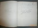 Mer de Glace - Mer Normande - Lamartine - Mistral. Avec Lettre Autographe Signée (L.A.S.).. BIBESCO, Alexandre, Prince de.