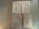 Oeuvres. Publiées d'après des documents inédits par René de Maulde. Pièces, Satyres, Epitaphes. Bien complet de sa carte du Chateau et de ...