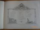 Album de l'Ecole Centrale. Vues et Souvenirs. Publié par les soins de l'Association Amicale des Anciens Elèves. 1884. Composé et Gravé par Albert ...