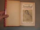Stendhal Romancier.. BARDECHE, Maurice.