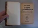 Le Génie de la Langue Française.. DAUZAT, Albert.