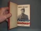 Carnets de Patrouille. Présentés par Mme R. Joseph-Maginot.. MAGINOT, André.