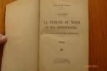 La Tunisie du Nord. Le Tell Septentrional. Etude de Géographie Régionale.. BONNIARD, F.