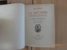 Oeuvres de la Bruyère. Publiées d'après les Textes Originaux avec une Introduction et des Notices par André Becheyras.. LA BRUYERE, Jean de.