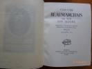 Beaumarchais , 1732 - 1799, Sa Vie Son Oeuvre,Mémoires et Théatre Complet collationnés sur les Premières Editions.. BEAUMARCHAIS, Pierre Auguste Caron ...