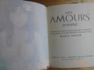 Les Amours d'Ovide. Traduit du Latin en Français par J. Mangeart et Illustrés de Lithographies Originales par Blasco Mentor. Collection Gravure ...