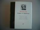 """Crime et Chatiment. Journal de Raskolnikov. Les Carnets de """"Crime et Chatiment"""". Souvenirs de la Maison des Morts. Introduction de Pierre Pascal. ..."""