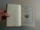 Recueil des Oeuvres de Madame du Bocage, des Académies de Padoue, Bologne, de Rome et de Lyon. T1 et 2.. BOCCAGE, Fiquet du .  LEPAGE Anne-Marie.