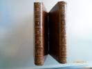 Les Nuits de Young, traduites de langlois par M. Le Tourneur. Troisième Edition  corrigée, - augmentée du Triomphe de la Religion. 2/2 T.. YOUNG, ...