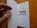 Libération de Paris. Les Cent Documents. Avant-Propos de Jacques Chaban-Delmas.. ROL-TANGUY, Henri Colonel - BOURDERON, Roger.