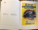 50 Salons de l'automobile Genève Automobil-Salons Genf  1924 - 1980 . Tribune Editions