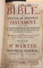 Bible Martin, 1760.