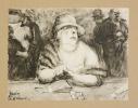 LE BACCARA. Dix lavis rehaussés d'aquarelle avec une préface de Jules Romains.. AUSCHER (Jean).