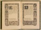 L'ALFABETO DELLA MORTE DI HANS HOLBEIN, Attorniato di fregii incisi in legno, ed accompagnato di sentenze latine e di quartine del XVIe secolo scelte ...