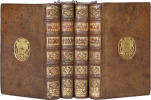 MÉMOIRES DE FRANÇOIS DE PAULE DE CLERMONT, Marquis de Montglat. [4 volumes].. BOUGEANT (G.-H.).