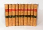 HISTOIRE PHILOSOPHIQUE ET POLITIQUE DES ÉTABLISSEMENS ET DU COMMERCE DES EUROPÉENS DANS LES DEUX INDES. [10 volumes].. RAYNAL (Guillaume-Thomas).