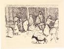 IMAGES D'UNE PETITE VILLE ARABE. Gravures originales de Albert MARQUET.. MARTY (Marcelle).