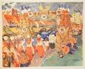 PÊCHEURS DES QUATRE MERS. Illustrations de Albert Brenet, Marin-Marie, Mathurin Méheut. . VERCEL (Roger).