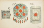 L'ORFÈVRERIE ALGÉRIENNE & TUNISIENNE. Ouvrage illustré de nombreux dessins. Chromolithographies et cartes.. EUDEL (Paul).