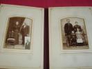 TRÈS BEL ALBUM 58 PHOTOGRAPHIES 1880/1930 Famille/ Guerre /Militaire .