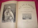 UN AN A ALGER  excursions et souvenirs. M.J Baudel