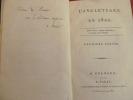 L'ANGLETERRE EN 1800 avec envoi ! rare ! 2/2 vols. Charles Antoine Baron Saladin
