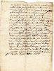 REGION MONTAUBAN / LETTRE DOCUMENT MANUSCRIT 1789 Latin Vieux Français .