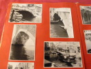 ALBUM PHOTOS VOYAGE ITALIE VENISE , gondole, Grand Canal,99 photos 1956.