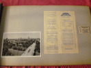 ALBUM PHOTOS VOYAGE ITALIE VENISE - SUISSE 1951 photo, Tickets...