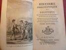 HISTOIRE DU COMMERCE DANS LES DEUX INDES Raynal TVII Français & Anglais Amérique. Guillaume Thomas Raynal