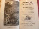 HISTOIRE PHILOSOPHIQUE et POLITIQUE Tome VI. Guillaume Thomas Raynal