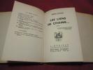 LES LIENS DE CHAINE ex n°II sur vergé Illustré par J.Lechantre . Robert Gaillard