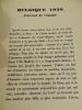 BELGIQUE 1930 Journal de Voyage . Maurice Martin du Gard