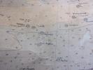 DUNKERQUE /2 CARTES MARINE Emplacement des épaves guerre 14/18 & 39/45 ( rare ).