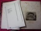 LA SUISSE collection de vues pittoresques avec texte Historique- Topographique. H.Runge, traduit de l'Allemand par Thévenot