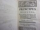 PRINCIPES DISCUTES, pour faciliter l'intelligence des livres prophétiques & spécialement les Psaumes, relativement à la langue originale. Tome II..