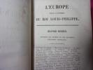 L'EUROPE DEPUIS L'AVÈNEMENT DU ROI LOUIS-PHILIPPE. M.Capefigue
