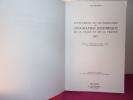 Supplément au dictionnaire de géographie historique de la Gaule et de la France. Jean Moreau