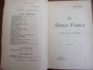 LA DOUCE FRANCE. René Bazin