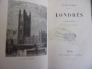 LONDRES scènes et croquis d'après nature. Guy de Laforest