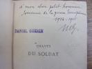 CHANTS DU SOLDAT . Paul Déroulède.
